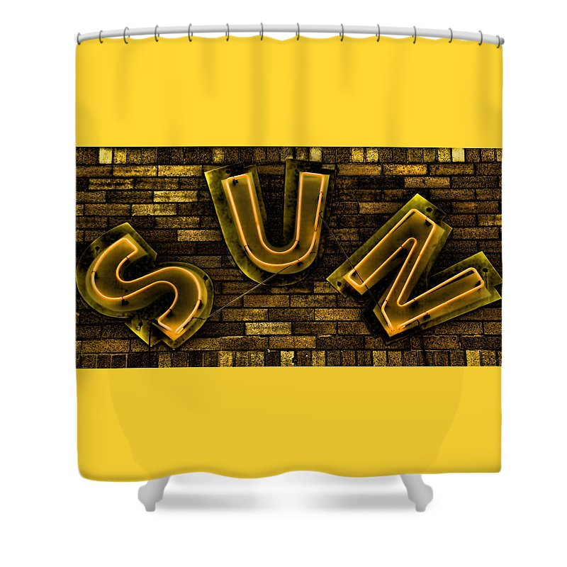 Sun Studio Neon 3 Shower Curtain For Sale By Stephen Stookey