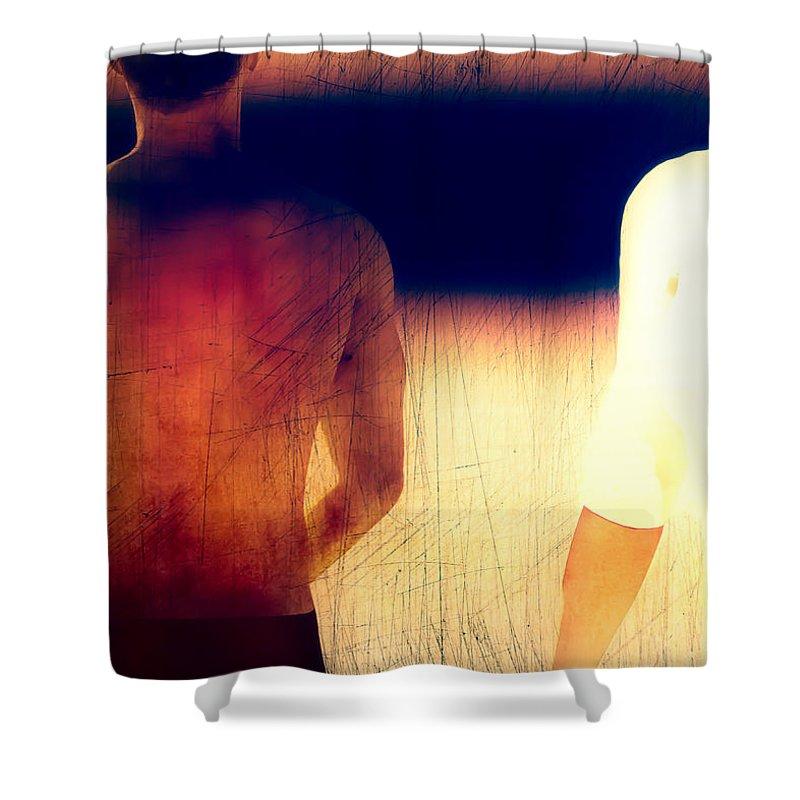 Sunburn Shower Curtain featuring the photograph Sunburn by Bob Orsillo