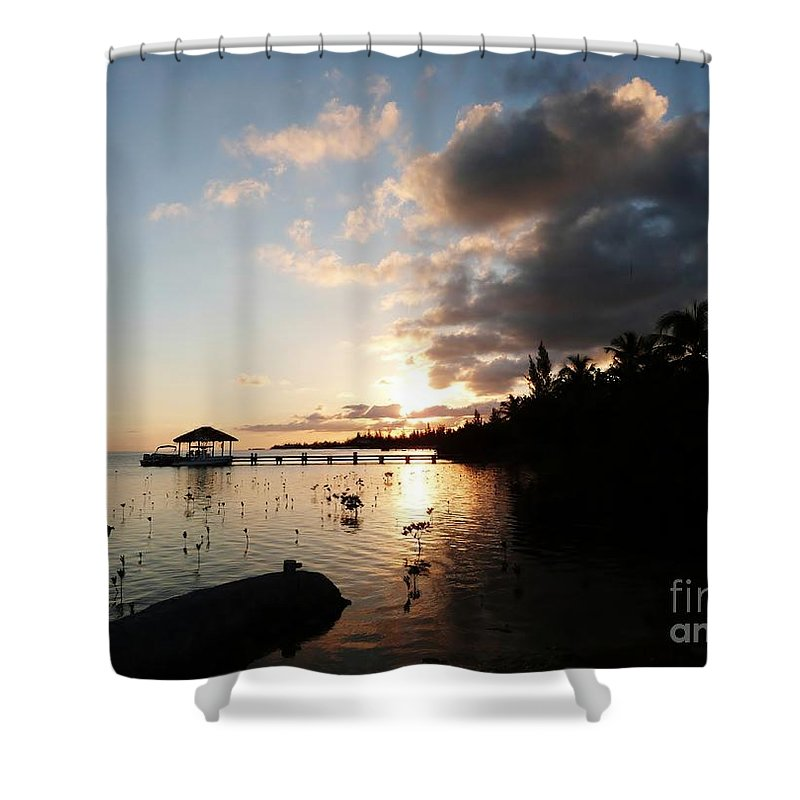 Color Shower Curtain featuring the photograph Sunset Dreams by Amar Sheow