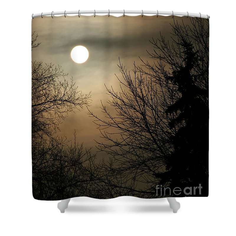 Landscape Shower Curtain featuring the photograph Super Sunday by Steve Augustin