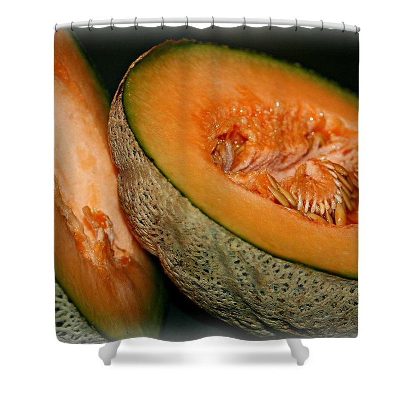 Macro Shower Curtain featuring the photograph Sweet Goodness by Barbara S Nickerson