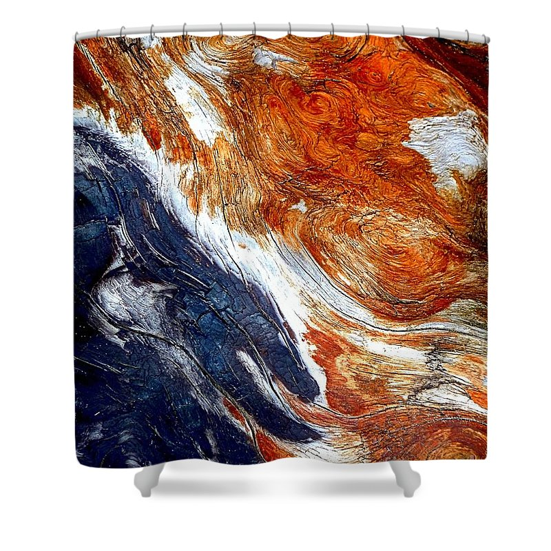 Abstract Shower Curtain featuring the photograph Swirl by Lauren Leigh Hunter Fine Art Photography