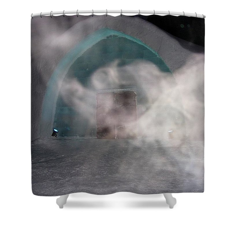 Lappland Shower Curtain featuring the photograph Swirl by Maria Joy
