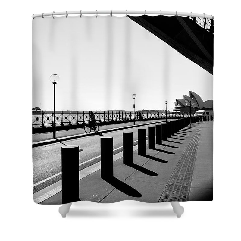 Yewkwang Shower Curtain featuring the photograph Sydney Opera House 03 by Yew Kwang
