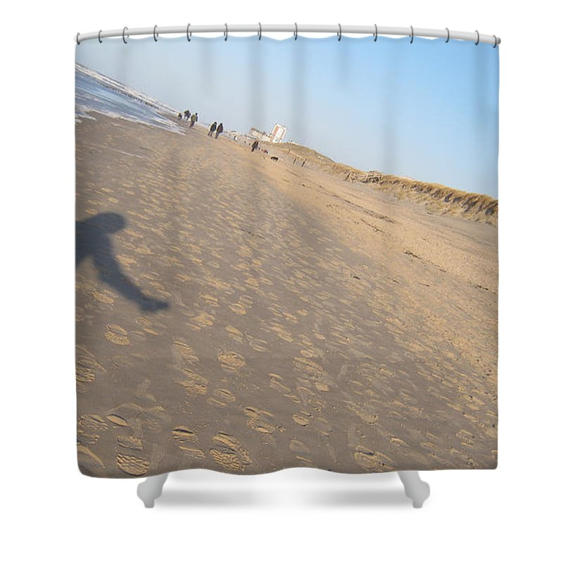 Sylt Freedom Shower Curtain featuring the photograph Sylt Freedom by Heidi Sieber