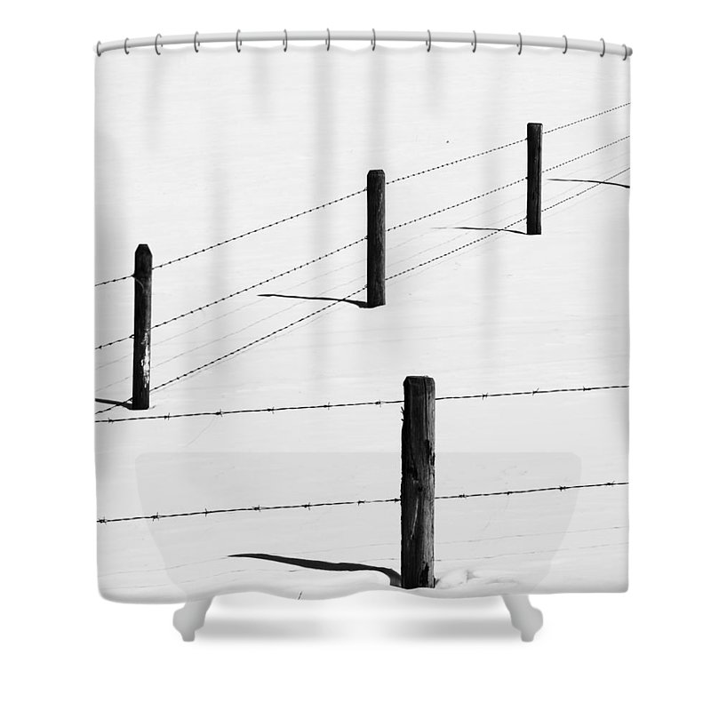 Posts Shower Curtain featuring the photograph Ten Soldiers by The Artist Project