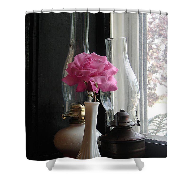Flower Shower Curtain featuring the photograph Thank You by Katherine Sumpter