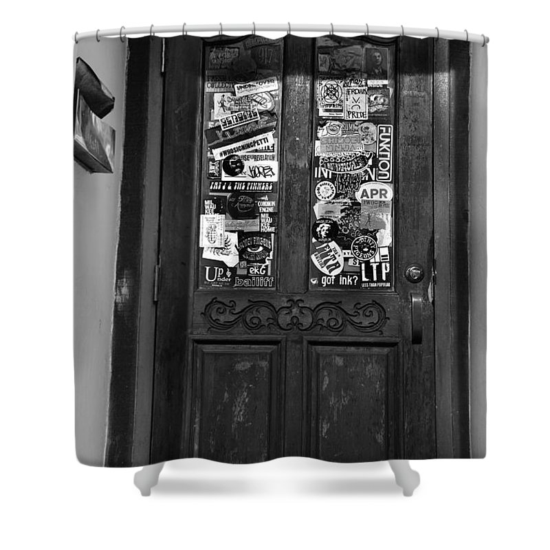 Doorway Shower Curtain featuring the photograph The 2nd Door by Debbie Nobile