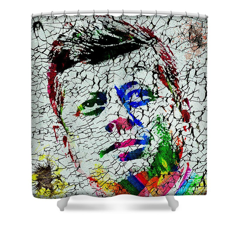 Jfk Shower Curtain featuring the photograph The 35th President Jfk by Gary Keesler