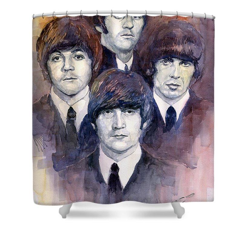 Beatles Shower Curtains