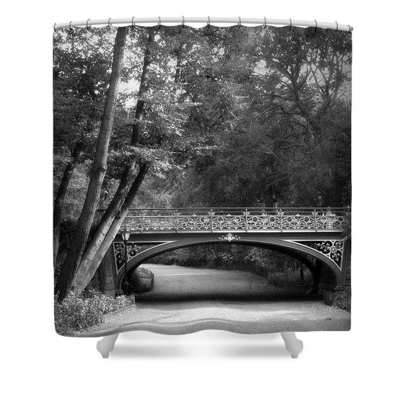 Bridge Shower Curtain featuring the photograph The Bridal Path by Jessica Jenney