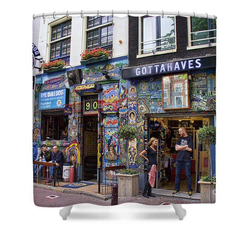 The Bulldog Coffee Shop Amsterdam Shower Curtain