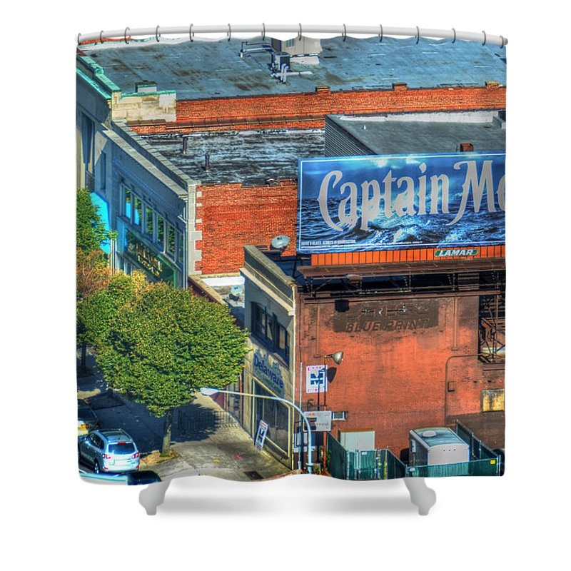 Captain Morgan Shower Curtain featuring the photograph The Captain by Michael Frank Jr