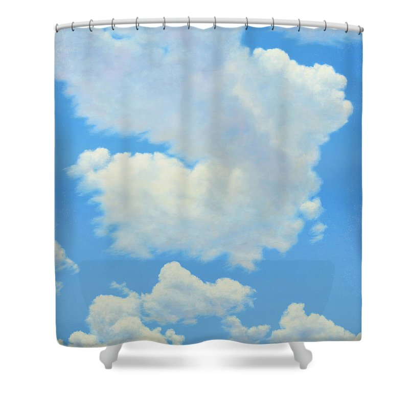 Redbird Shower Curtains