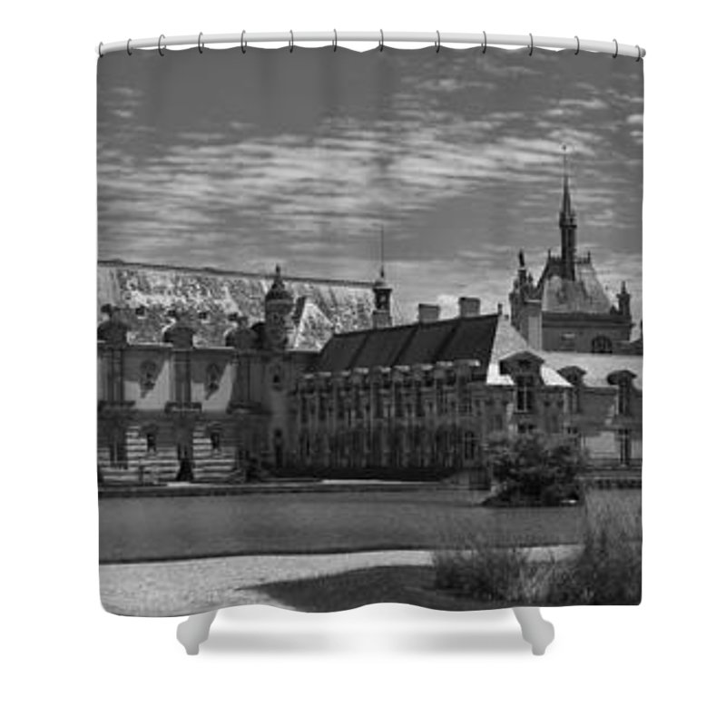 Chantilly Shower Curtain featuring the photograph The Chateau by Maj Seda