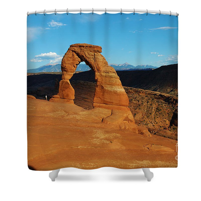 Delicate Shower Curtain featuring the photograph The Delicate Arch 10 by Micah May