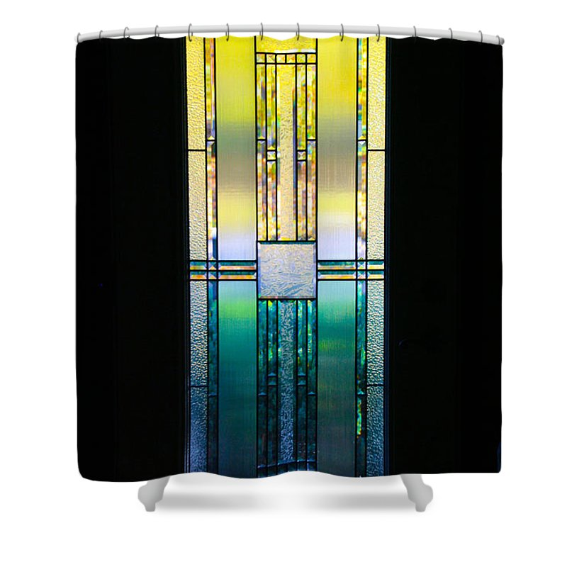Door Shower Curtain featuring the photograph The Door by Susan Herber
