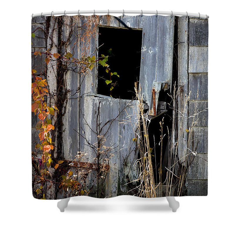 Door Shower Curtain featuring the photograph The Door by William Jobes