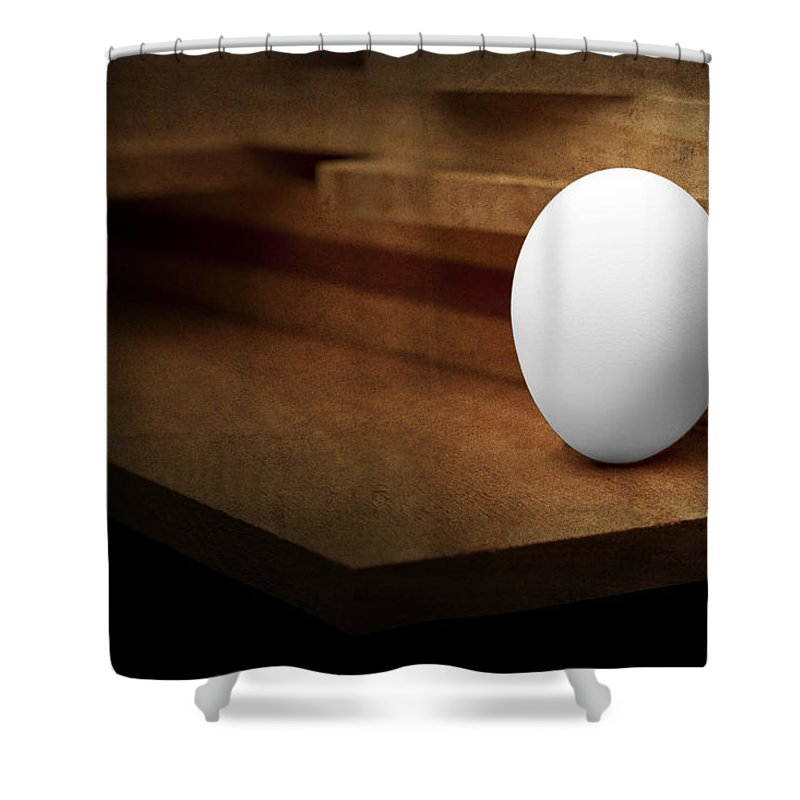 Egg Shower Curtains