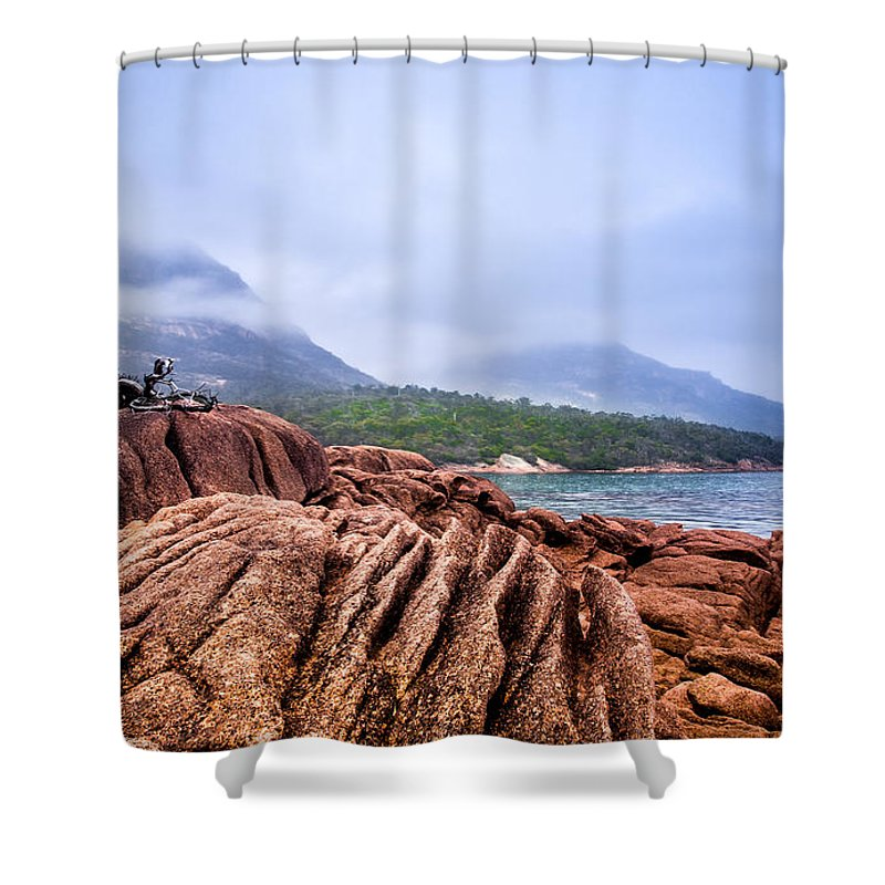Elements Shower Curtain featuring the photograph The Elements by Kaleidoscopik Photography