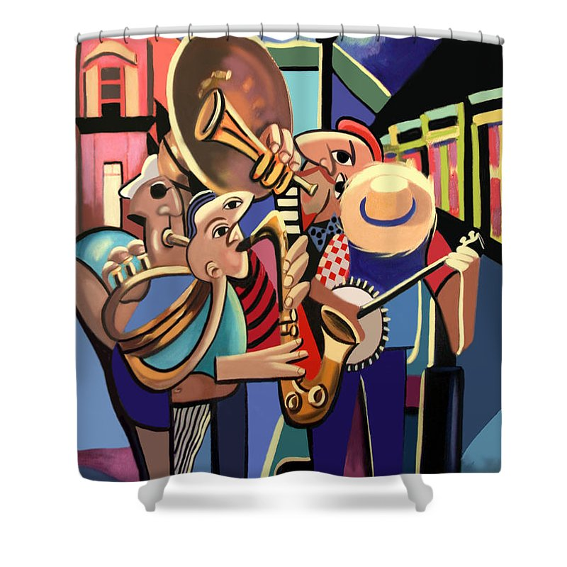 New Orleans Shower Curtains