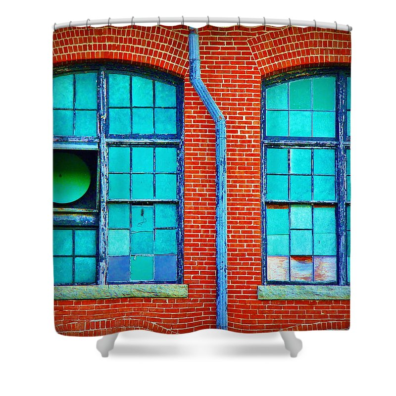 Fine Art Shower Curtain featuring the photograph The Fun Factory by Rodney Lee Williams