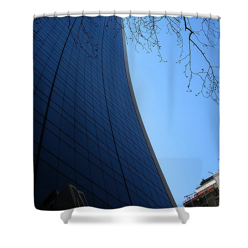 Grace Building Shower Curtain featuring the photograph The Grace Building by RicardMN Photography