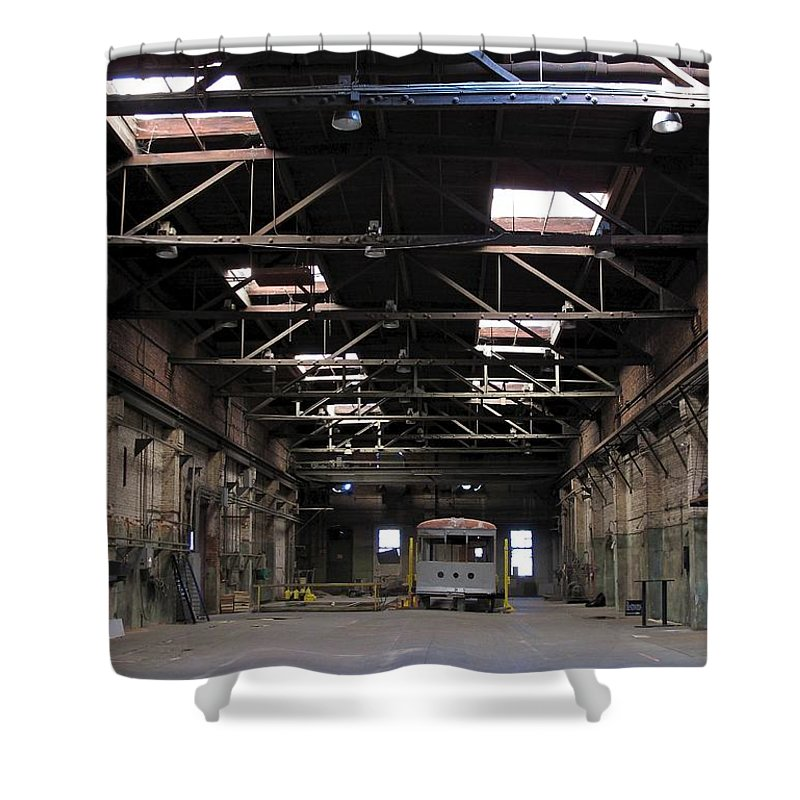 Tampa Shower Curtain featuring the photograph The Heights 1 by David Beebe