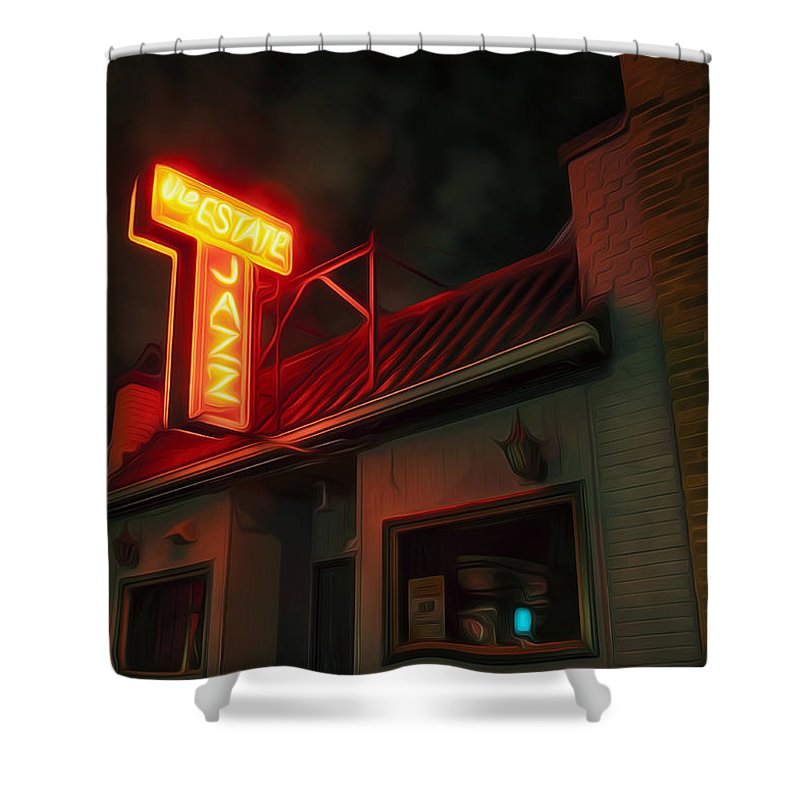 Night Glow Shower Curtains