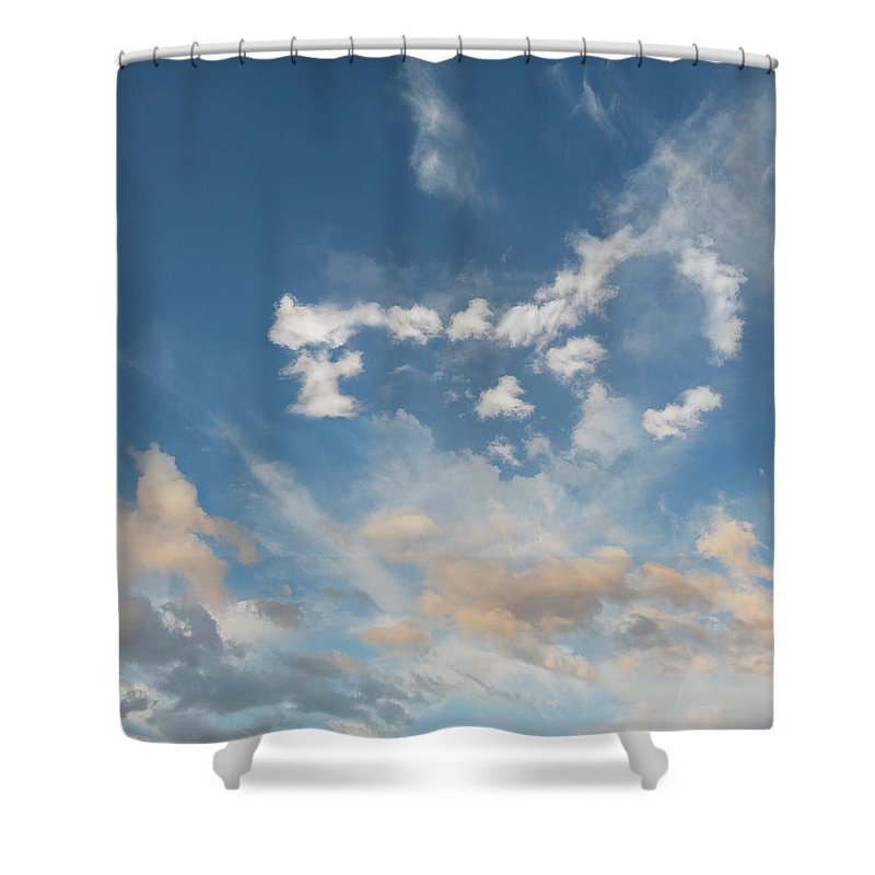 California Shower Curtain featuring the photograph The Key To Cloud Computing by John Lund