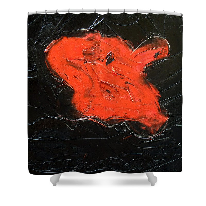 Surreal Shower Curtain featuring the painting The Last Hope by Sergey Bezhinets