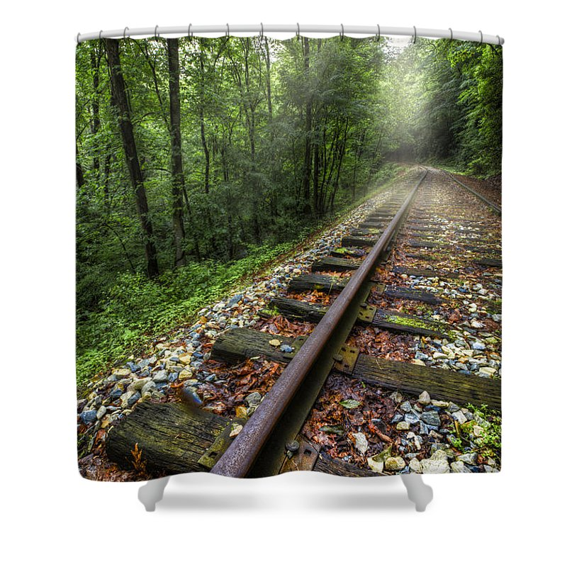 Trax Shower Curtains