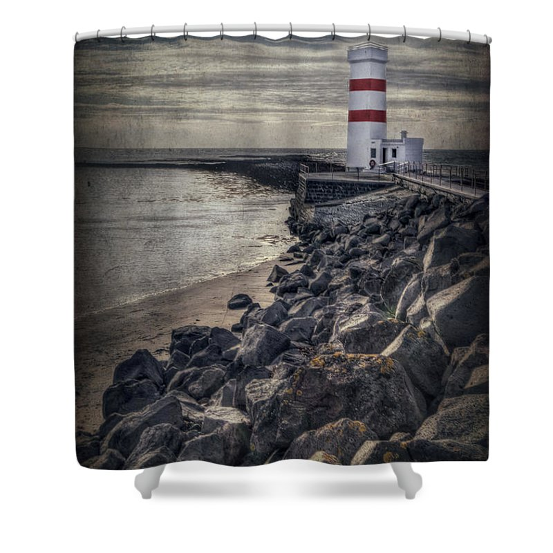 Gardskagi Shower Curtain featuring the photograph The Night Watch by Evelina Kremsdorf