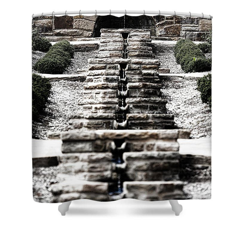 Water Shower Curtain featuring the photograph The Path Of Least Resistance by Douglas Barnard