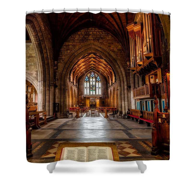 Welsh Church Photographs Shower Curtains