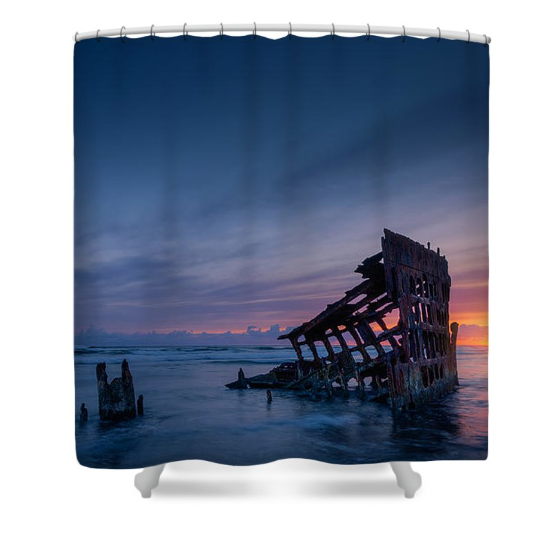 Peter Iredale Shower Curtains