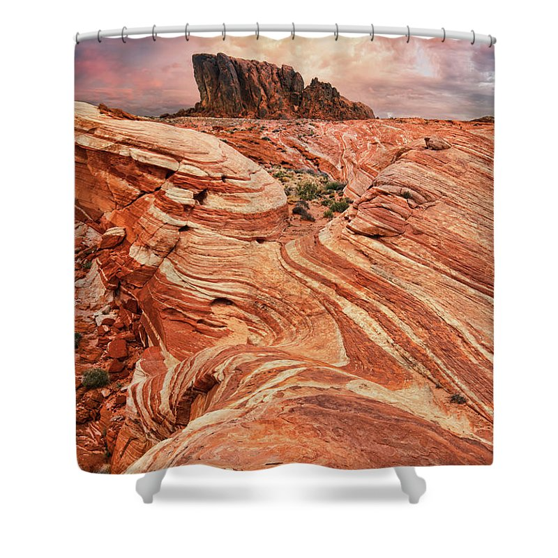 Scenics Shower Curtain featuring the photograph The Sand Crawler by Lee Sie Photography