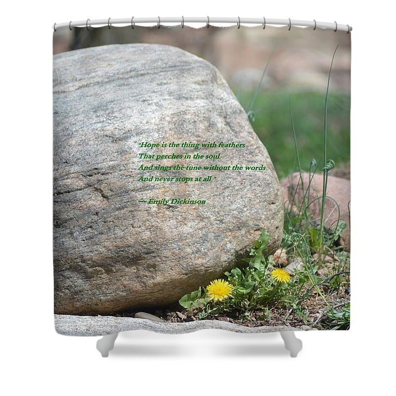 There Is Always Hope Shower Curtain featuring the photograph There Is Always Hope by Sonali Gangane