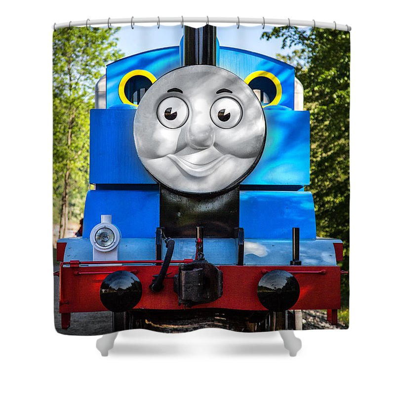 Thomas The Train Shower Curtain Featuring Photograph By Dale Kincaid