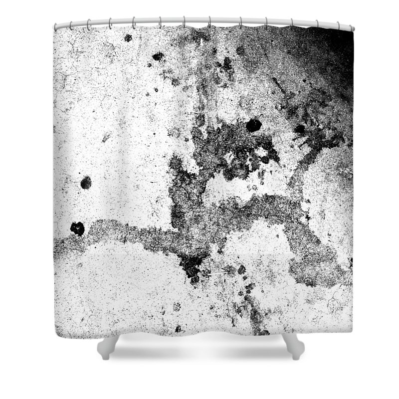 Skid Row Artist Shower Curtain featuring the photograph Thrashed - But Not Without The Head Of The Devil by Kenneth James
