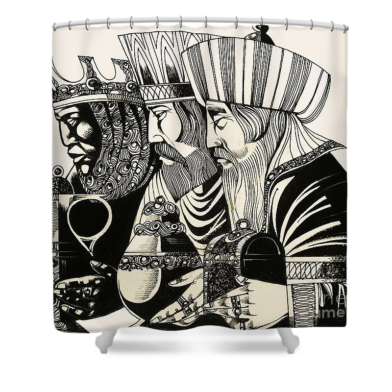 Religious Shower Curtains
