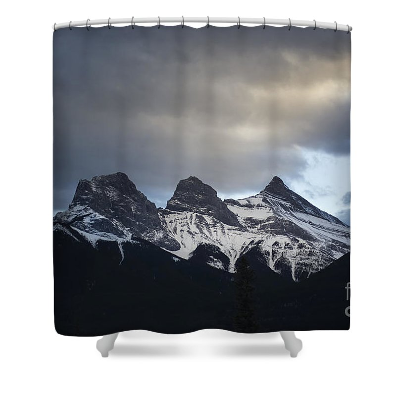 Three Sisters Shower Curtain featuring the photograph Three Sisters by Evelina Kremsdorf