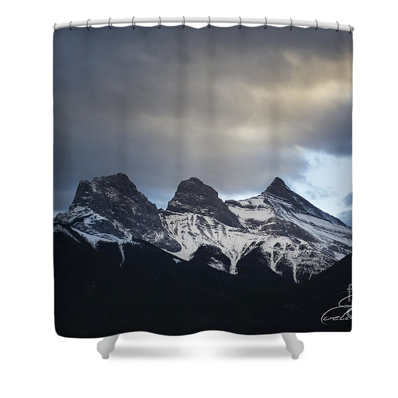 Three Sisters Shower Curtain featuring the photograph Three Sisters - Special Request by Evelina Kremsdorf