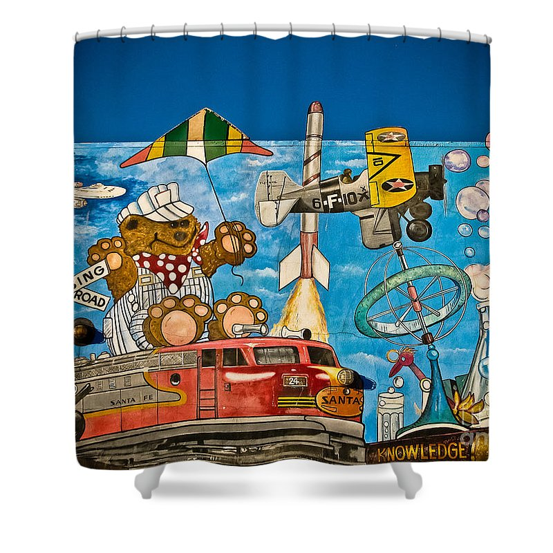 Red Bank Shower Curtain featuring the photograph To Be Young Again by Colleen Kammerer