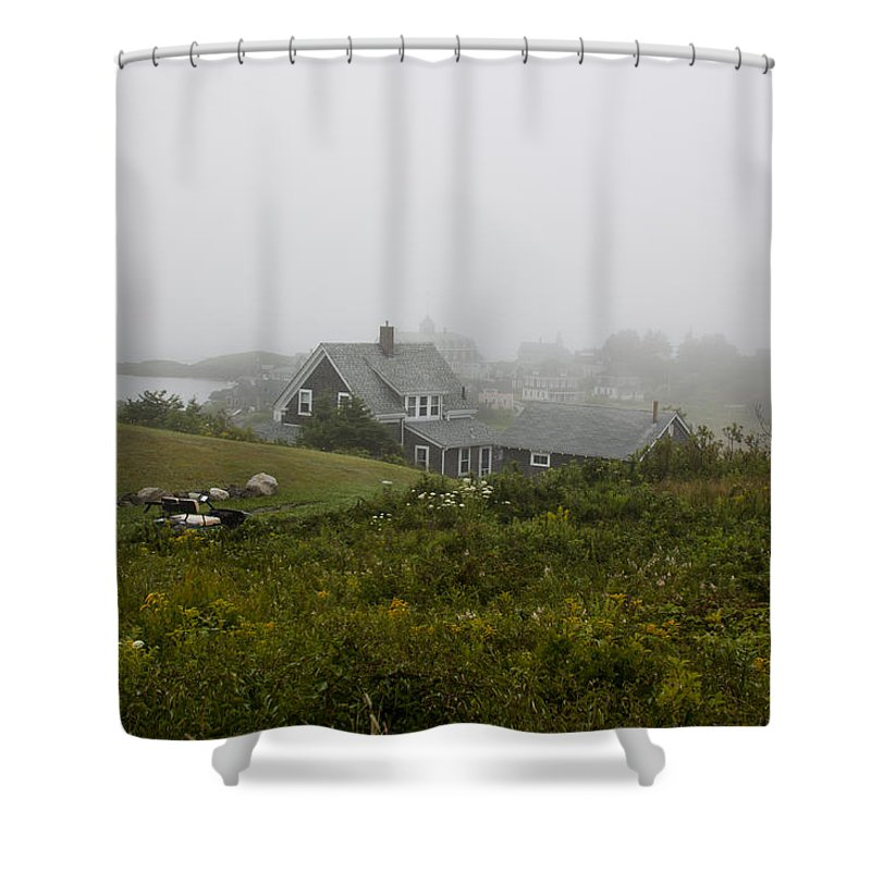 Hill Shower Curtain featuring the photograph Top Of The Hill by Jean Macaluso