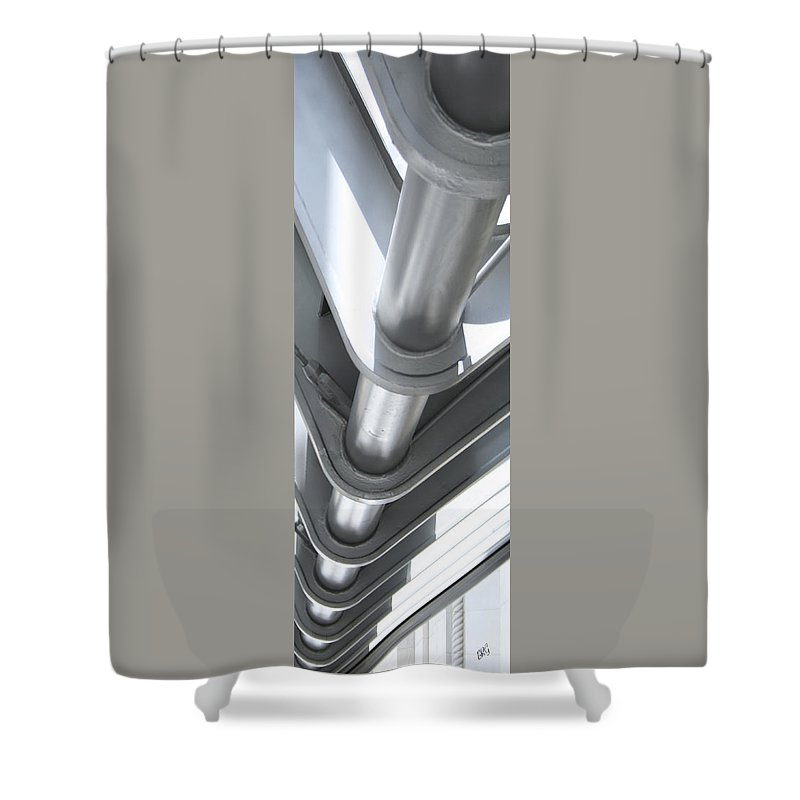 Architectural Element Shower Curtain featuring the photograph Toronto Silhouettes IIi by Ben and Raisa Gertsberg