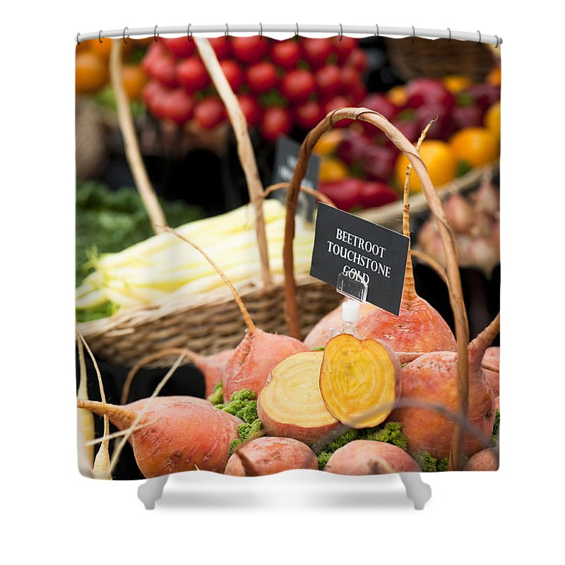 Amaranthaceae Shower Curtain featuring the photograph Touchstone Gold by Anne Gilbert