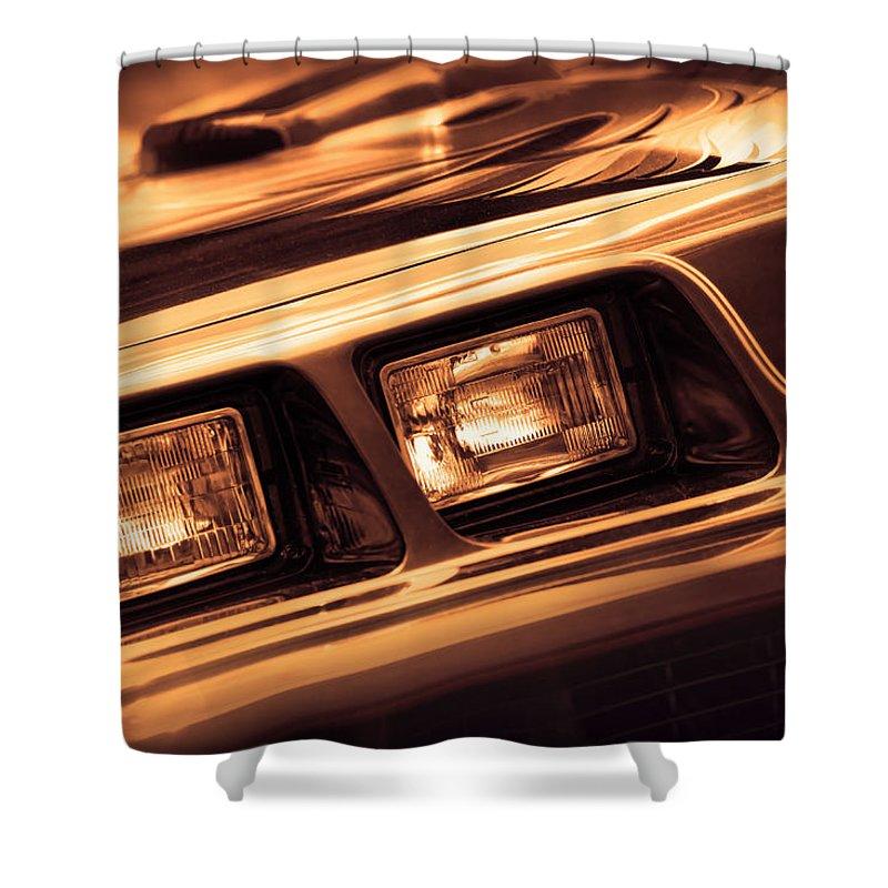 1979 Shower Curtain featuring the photograph Trans Am by Gordon Dean II