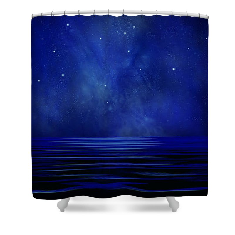 Tropical Dreams Shower Curtain featuring the painting Tropical Dreams Wall Mural by Frank Wilson