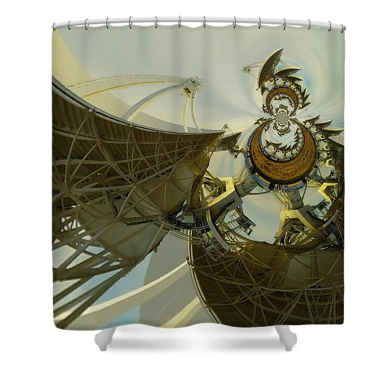 Abstract Shower Curtain featuring the photograph Twisted Beauty Of Chaso by Jeff Swan